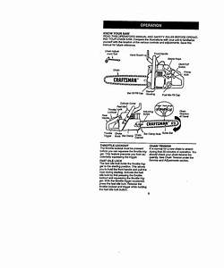 Craftsman 358351063 User Manual Chain Saw Manuals And