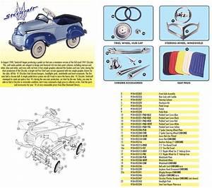 Pedal Car Parts  Murray U00ae Pontiac Pedal Rods With
