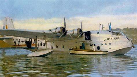 Flying Boat Australia by The Way It Was Sydney To Singapore In 4 Days By Qantas