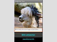 Krisenratinfo AndroidApp Orakel der Tiere