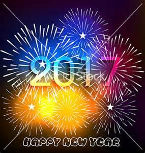 Fireworks Happy New Year 2017