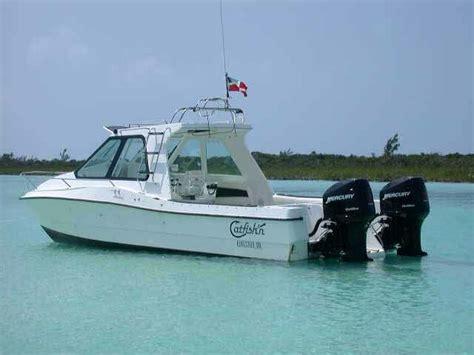 Power Catamaran Boat Names by Used Carolina Cat 28 Power Catamaran For Sale Catfish N