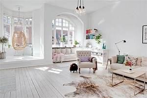 Conseils Dco Pour Un Salon Blanc Total Look Made In Meubles