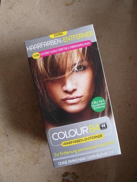 Einmal Haare fu00e4rben und zuru00fcck u2013 Colour B4 Haarfarben Entferner