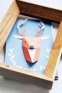 Trophée Animaux Origami : les 25 meilleures id es concernant animaux en origami sur pinterest origami instructions d ~ Teatrodelosmanantiales.com Idées de Décoration