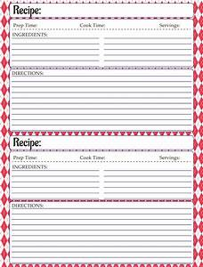 free printable recipe template family cookbook ideas With free recipe template for cookbook