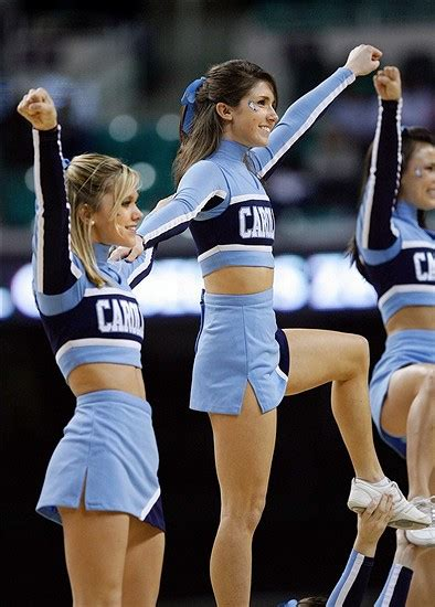 unc cheerleader pics keeping  heel