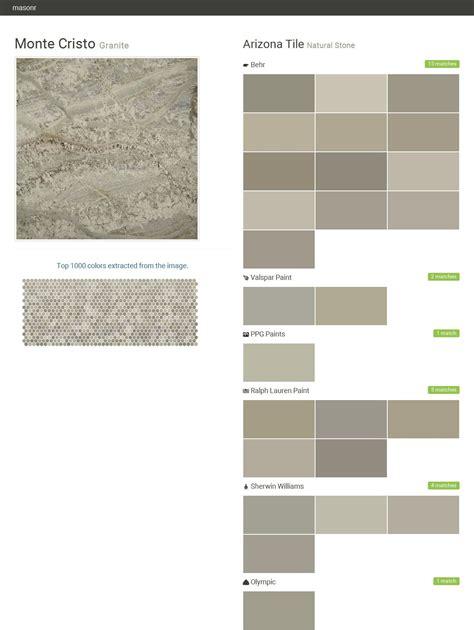 monte cristo granite natural arizona tile behr valspar paint ppg paints ralph
