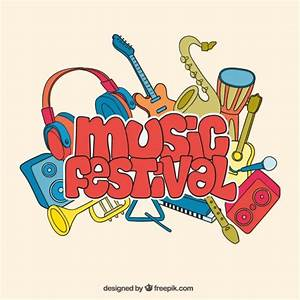 Music Festival Background Free Vector | 123Freevectors
