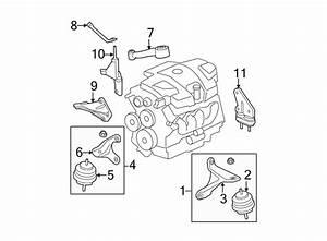 Buick Lucerne Engine Torque Strut  3 8 Liter  3 9 Liter