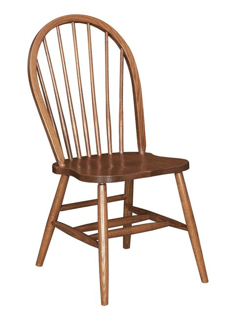 bow back side chair peaceful valley amish furniture