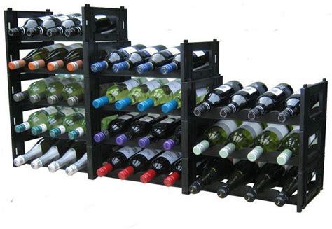 Wine Rack Ezirack Black 48 Bottle