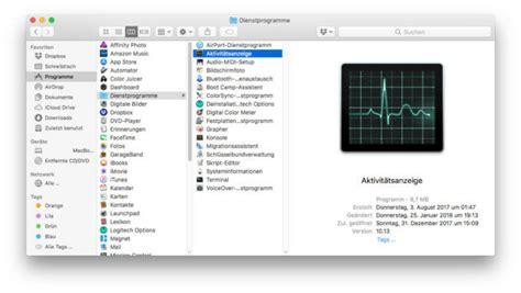 Programm Mac by Strg Alt Entf Am Mac Alternativen Zum Taskmanager Unter Macos