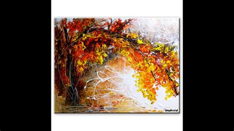 Amazing Landscape Abstract Painting By Peter Dranitsin