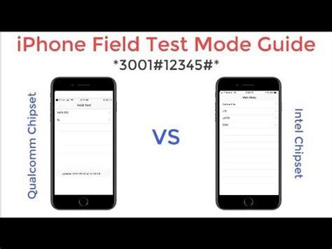 field test iphone iphone field test mode guide
