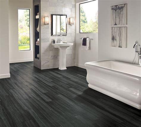 Bathroom Vinyl Flooring Ideas by Armstrong Luxury Vinyl Plank Flooring Lvp Black Wood