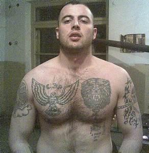 Russische Mafia Knie Tattoos