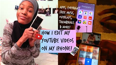 edit on iphone how i edit my on my iphone thumbnails
