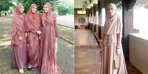 ide penampilan wisuda  kebaya  hijab syari