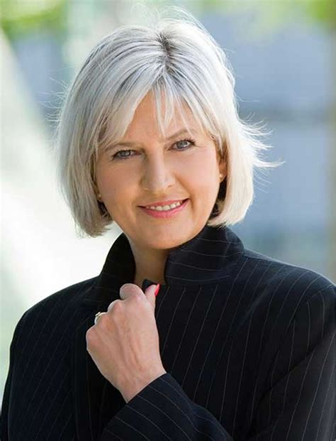 Grey Bob Hairstyles for Older Women 2018 2019 HAIRSTYLES