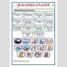 Buildings & Places  English 6th Grade  Pinterest  Building, English And Worksheets