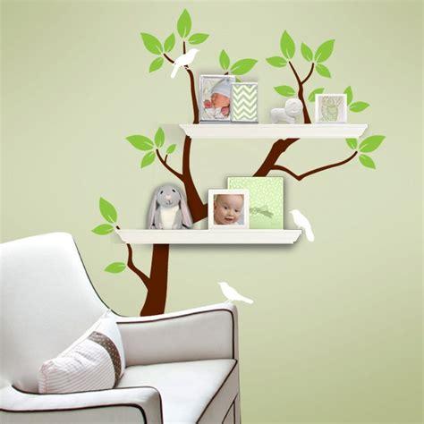 nursery wall organizer custom listing for carmen tree branch decal with birds