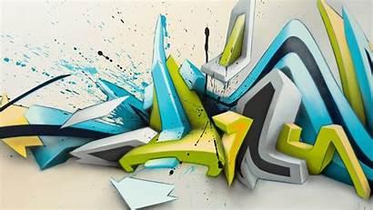 Graffiti Abstract Arrow Daim Animated Gray