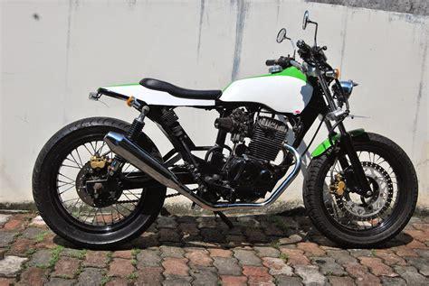 Motor Japstyle Keren by Modifikasi Style Kawasaki Modifikasi Motor