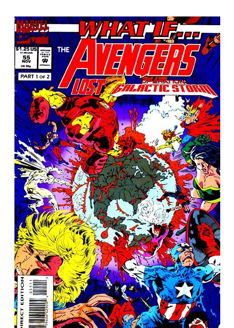 Marvel : What If... The Avengers Lost Operation Galactic ...