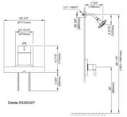 kitchen faucet diverter valve pressure balancing shower valves and trim kits by danze