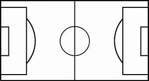 blank soccer field diagram clipartsco With blank football field template
