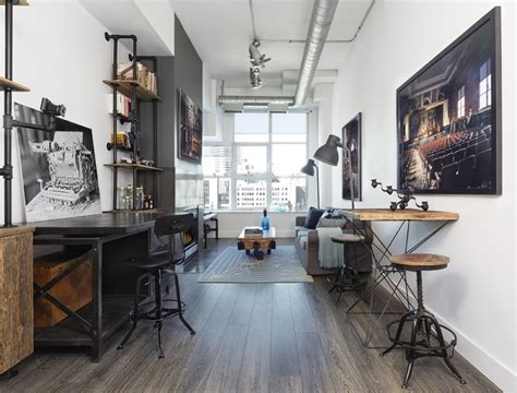 Interior Decorating Blogs Toronto by Outdated Toronto Loft Gets Modernized With Industrial Touches