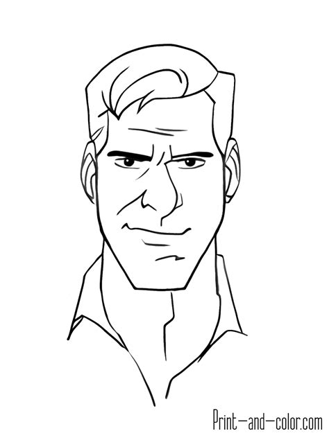 indiana jones coloring pages print  colorcom