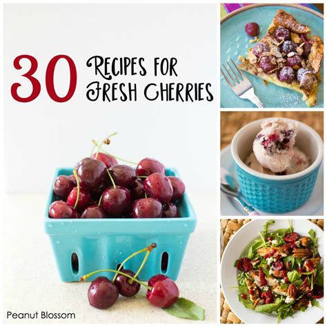 30 Recipes For Fresh Cherries And How To Freeze Them