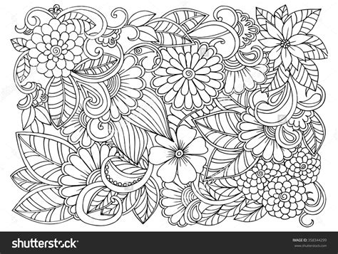 Coloring Pages Of Flower Designs With Flower Designs