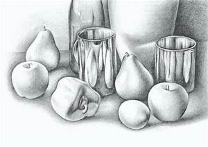 Pics For > Still Life Colour Pencil Shading