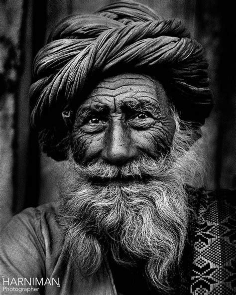 Rajasthan Old Man Portrait  Old Man Portrait, Rajasthan