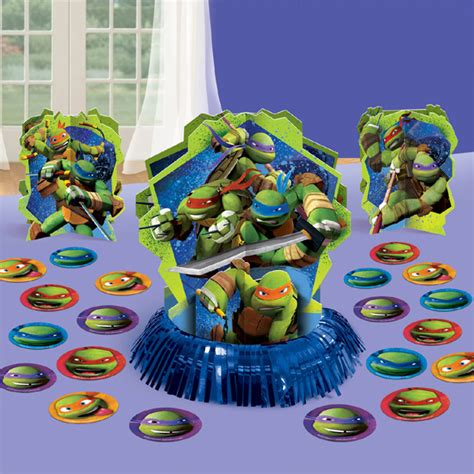 teenage mutant ninja turtles table decor kit this party