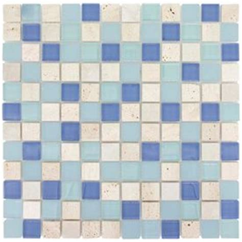 Elida Tile Home Depot by Elida Ceramica 12 In X 12 In Glass Mosaic Water Springs
