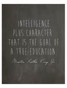 MLK Intelligence Plus Character Quote