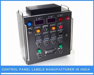 industrial labels exporter manufacturer india With control panel labels