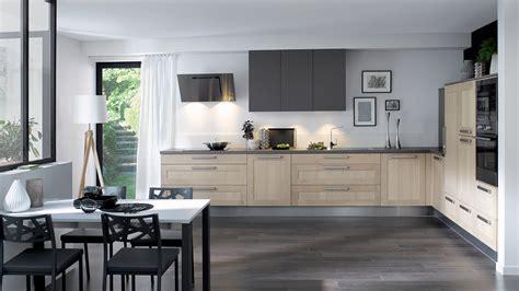modele cuisine cuisinella cuisine équipée wooden style authentique bois