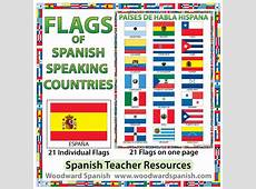 Flags of Spanishspeaking countries Woodward Spanish