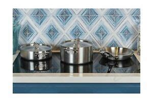 viking culinary professional  ply stainless steel cookware set  piece sil  ebay