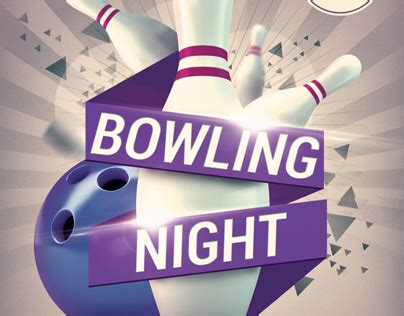 Free Bowling Flyer Template Images Template Design Free Download
