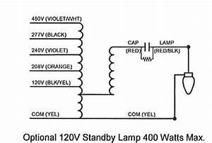 Xm 8115  480v Ballast Wiring Diagram Schematic Wiring