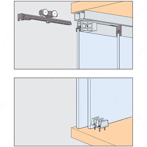 sliding cabinet door systems eku clipo 16 gpk is by pass sliding system for 2 glass