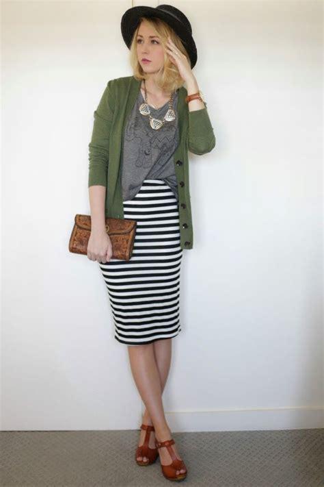 best 25 striped skirt ideas on