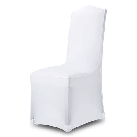 1 100x white chair covers seat cover spandex lycra banquet