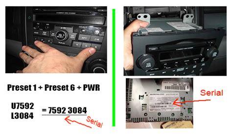 Honda Crv Radio Code